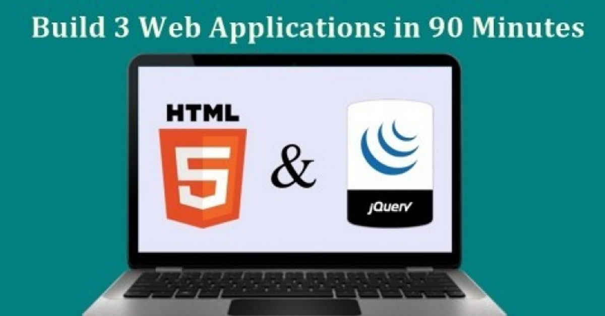 Web Application Development - Learn by Building 3 Web Apps