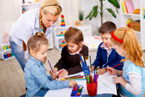 teaching kindergarten