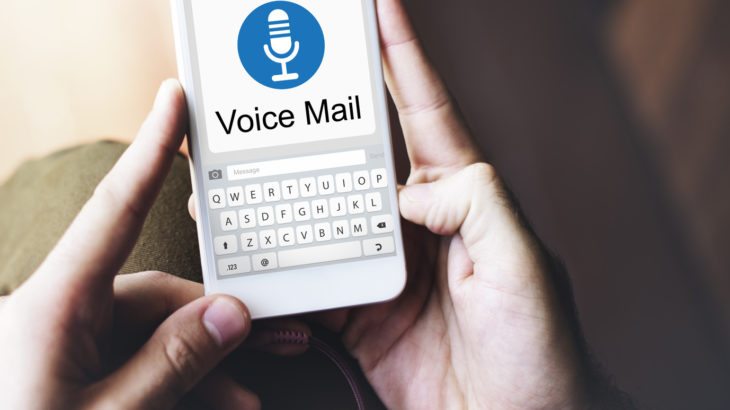 voicemail message