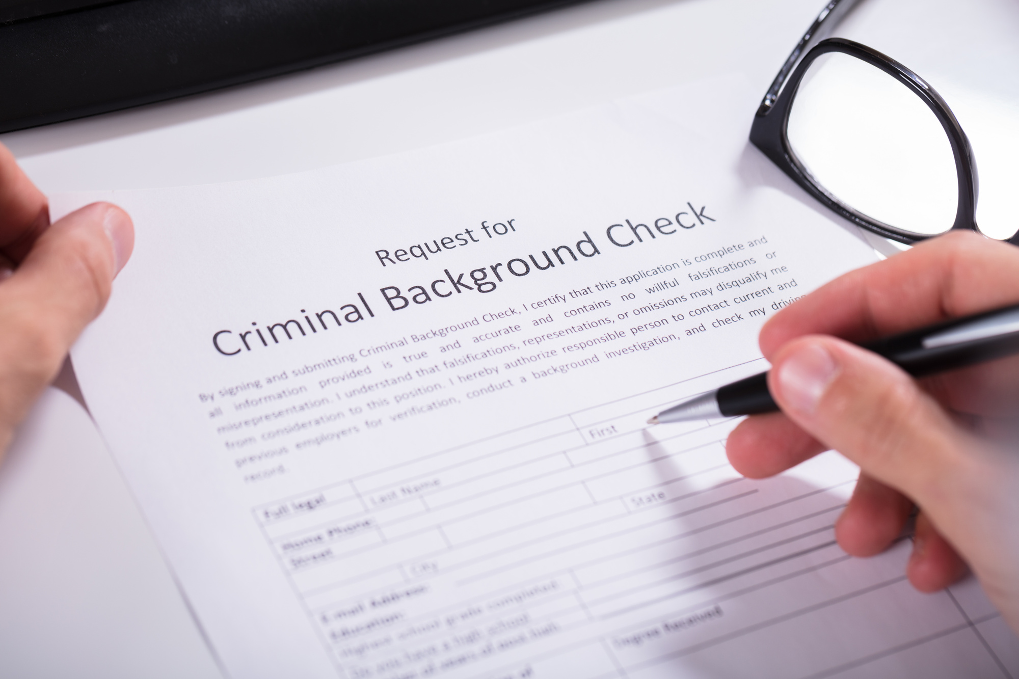 jobs with no criminal background check